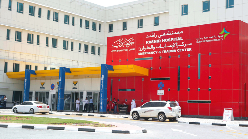 المستشفى استحدث خدمة علاج السموم والأدوية ضمن خدمات الطب الطارئ. من المصدر