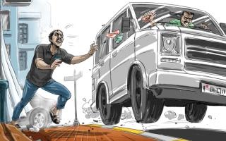 الصورة: ضبط متهم بالاحتيال على بقالات بـ«فكة 1000 درهم»