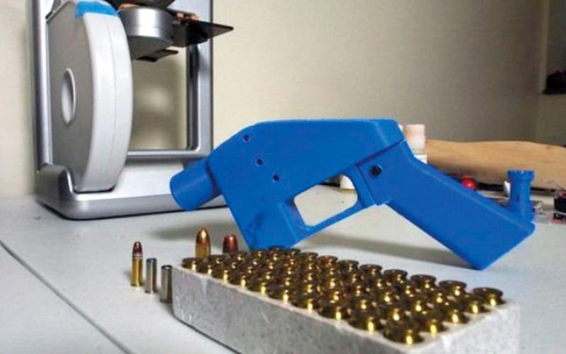الصورة: (بالغرافيك).. ولايات أميركية ورجال قانون في مواجهة إنتاج أسلحة بالطابعات ثلاثية الأبعاد