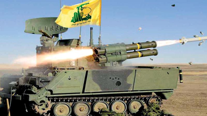 قوات «حزب الله» إلى جانب الأسد في الحرب الأهلية. غيتي