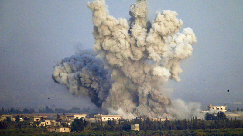 صراع مرير بين قوات الأسد المدعومة من إيران والثوار المناوئين لها.  أ.ب