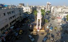 الصورة: الأمم المتحدة تدعو إلى مفـــاوضات عاجلة لتجنب «حمام دم» في إدلــب