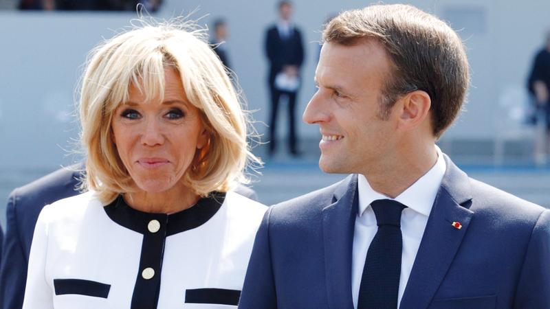 بريجيت مختلفة تماماً عن السيدات الفرنسيات الأُول السابقات. رويترز