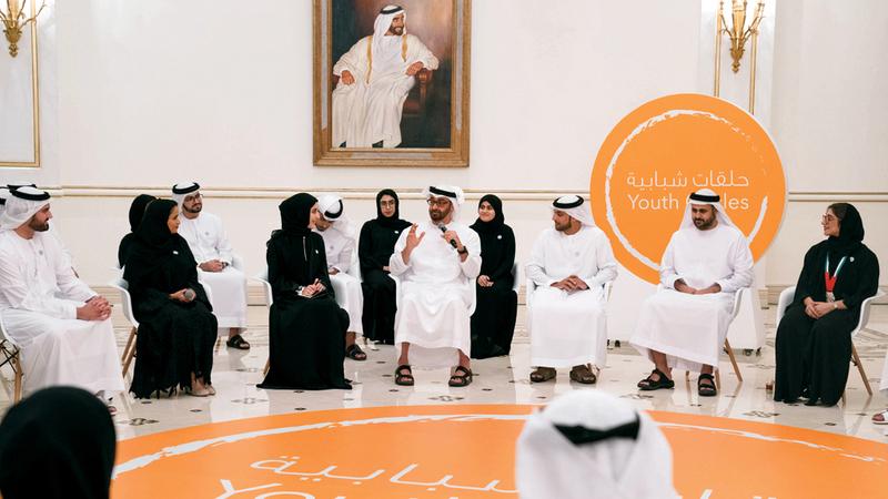 محمد بن زايد أكد أن اليوم العالمي للشباب فرصة لمشاركتهم طموحاتهم واستعدادهم للمستقبل. وام