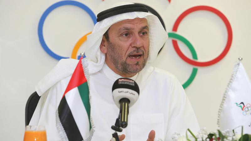 عبدالملك جاني: الأولمبي لكرة القدم سيستهل مشاركته اليوم،  ونتمنى أن يظهر بمظهر مشرف يليق بسمعة  الكرة الإماراتية.