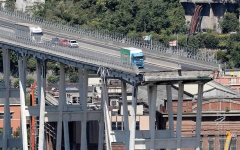 الصورة: مهندس ألماني يشكّك في سلامة بعض جسور الطرق السريعة بعد انهيار جسر في إيطاليا