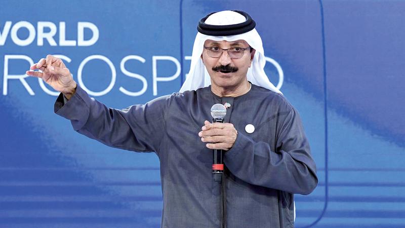 سلطان أحمد بن سليم: «حققنا أداءً قوياً في مناخ تجاري غير مستقر، ما يؤكد تميزنا التشغيلي ومرونة محفظة أعمالنا».