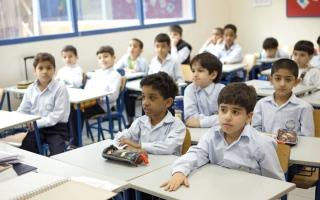 الصورة: 7.5 مليارات درهم عائدات المدارس الخاصة   في دبي من الرسوم الدراسية