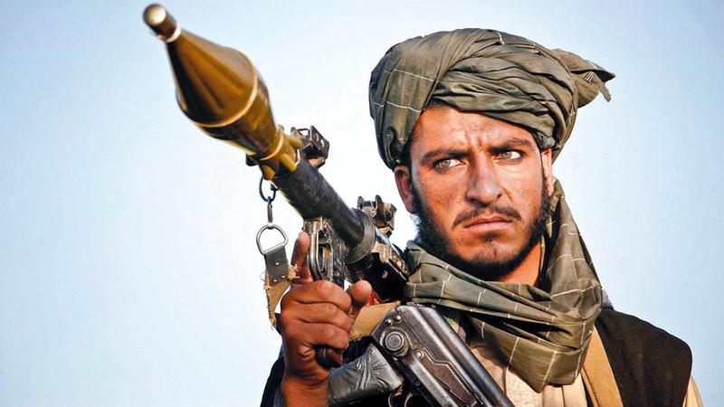 مقاتل من«طالبان». أرشيفية