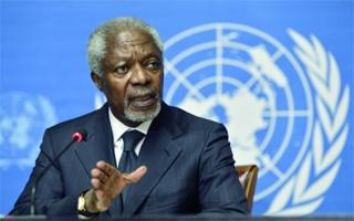 الصورة: وفاة الأمين العام السابق للأمم المتحدة كوفي عنان