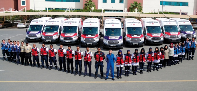Dubai Ambulance»: an integrated plan to secure the holiday