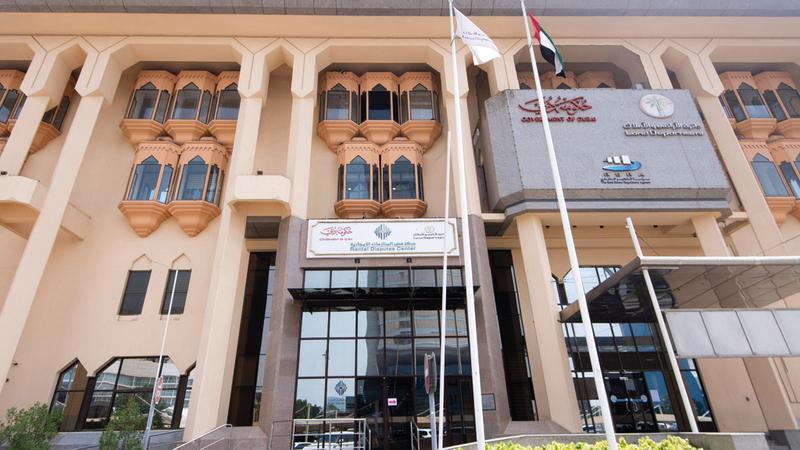 «المركز» أصبح مرجعاً دولياً في حل المنازعات الإيجارية. تصوير: أحمد عرديتي