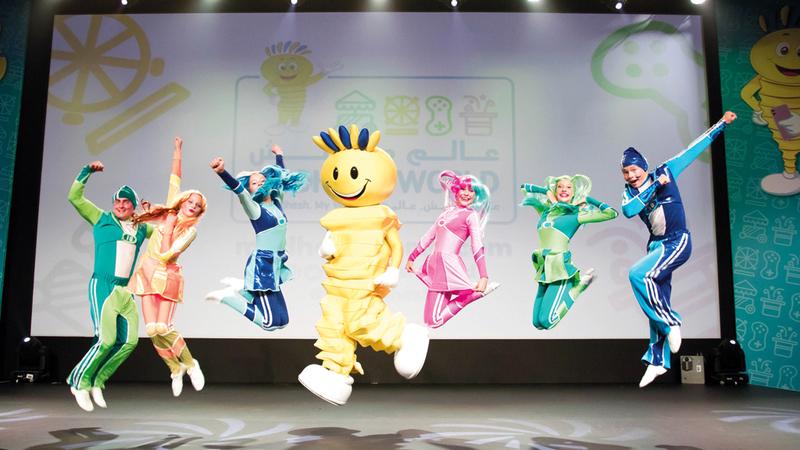 «مدهش» يقدّم مجموعة من الأنشطة والألعاب والعروض المسرحية والمرح لكل أفراد العائلة. من المصدر