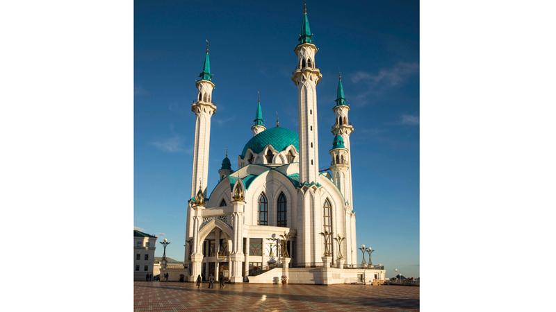 مسجد شريف قول ضمن قائمة التراث العالمي لمنظمة اليونيسكو. د.ب.أ