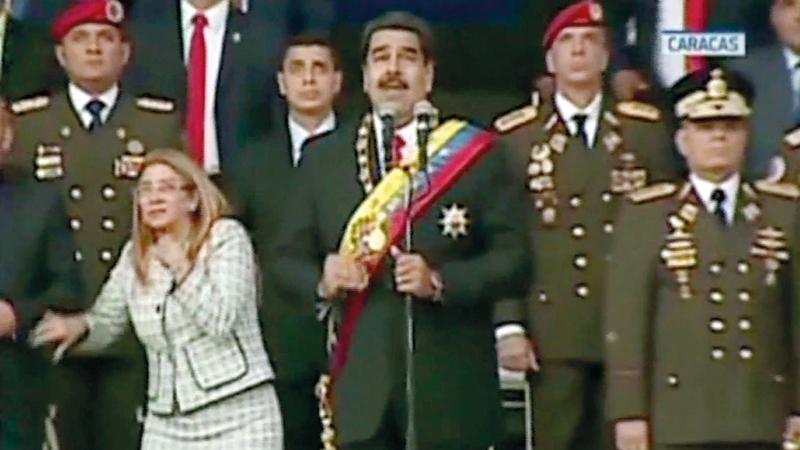 الهجوم على الرئيس الفنزويلي بـ«الدرونز» سابقة خطرة. أرشيفية