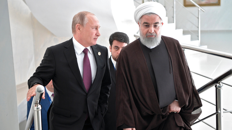 تقارب وثيق بين إيران وروسيا قد يساعد أميركا على توقيع اتفاق نووي آخر مع طهران. إي.بي.إيه