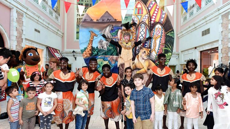 احتفالات «العيد في دبي» التي يتوقع أن تستقطب الآلاف من داخل الدولة وخارجها. من المصدر