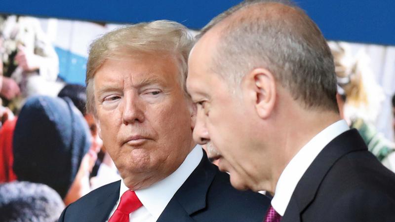 ترامب يدعم تشديد العقوبات على تركيا ما لم تطلق سراح القس الأميركي آندرو برونسون. أرشيفية