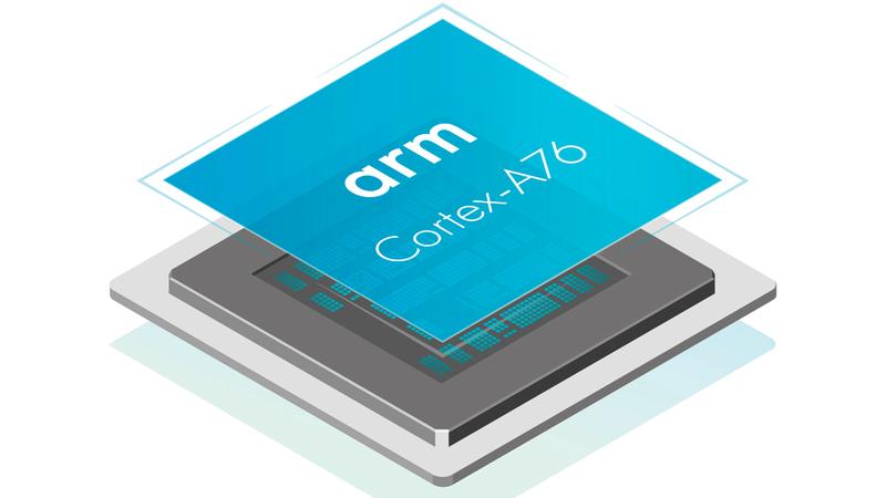 معالجات «كورتكس إيه 76» تستطيع تشغيل «ويندوز 10» بكل مكوناته وخصائصه بكفاءة تامة. من المصدر