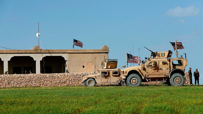 وجود محدود للقوات الأميركية على الأراضي السورية. أرشيفية
