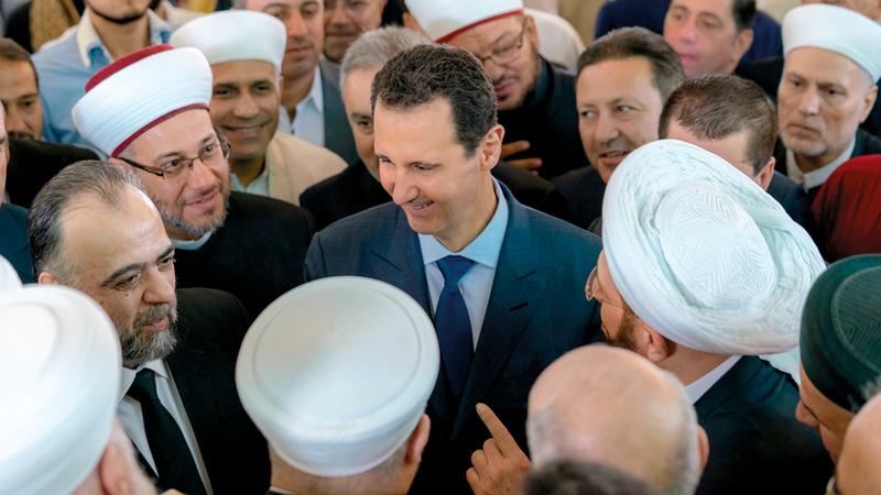 الأسد صرّح بأن «معركة إدلب باتت وشيكة». أرشيفية