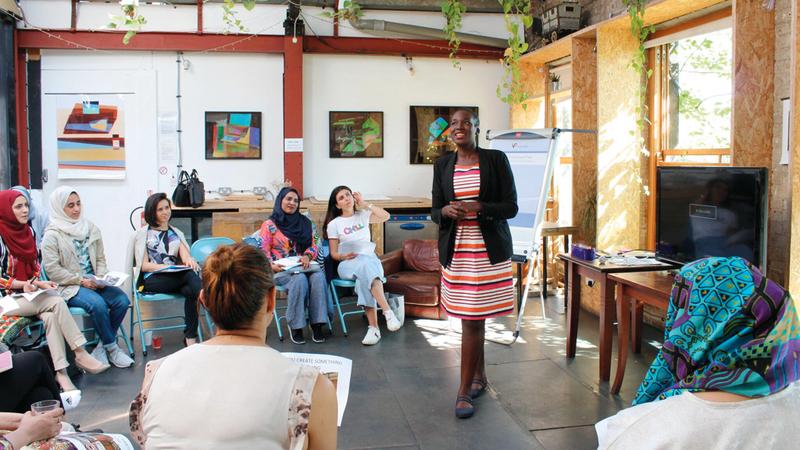 «البرنامج» ينظّم بالتعاون مع كلية ريادة الأعمال الاجتماعية في لندن. من المصدر