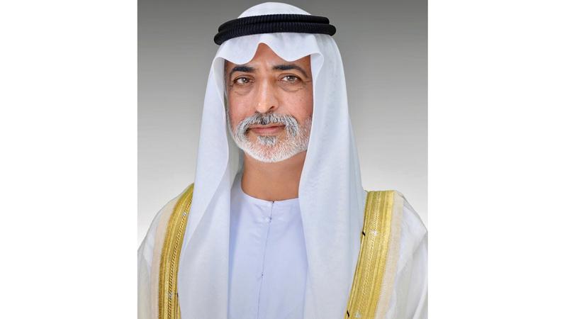 نهيان بن مبارك: «الثقة الكبيرة التي وضعها الشيخ زايد في ابنة الإمارات هي الباعث الأساسي على مشاركتها المؤثرة في تقدم الدولة».