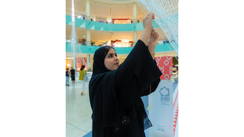 عائشة السويدي  تستعد لبدء دراسة برنامج بكالوريوس التصميم في معهد دبي للتصميم والابتكار. من المصدر
