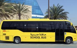 الصورة: «طرق دبي» تستعد للعام الدراسي بتوفير 368 حافلة ذكية لـ 17 مدرسة