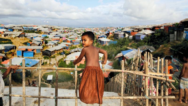 عنف جيش حكومة ميانمار في مناطق الأقليات لم يستثنِ الأطفال. أ.ب