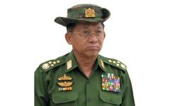 الصورة: قائد جيش ميانمار مسؤول عن المجازر