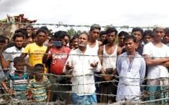 الصورة: أطفال الروهينغا يروون فظائع   ارتكبها جيش ميانمار بحق عرقيتهم