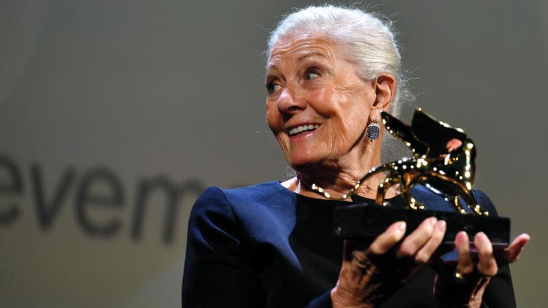 الممثلة البريطانية فانيسا ريدغريف (81 عاماً) كُرمت عن مجمل أعمالها. رويترز