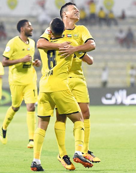 ليما عاد من الإصابة وسجل الهدف الثاني. الإمارات اليوم