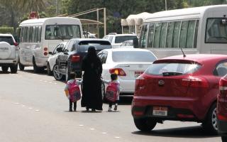 الصورة: «العودة إلى المدارس».. حملة مرورية اتحادية لسلامة الطلبة