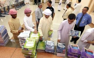 الصورة: 171 ألف طالب وطالبة ينتظمون في مدارس الشارقة