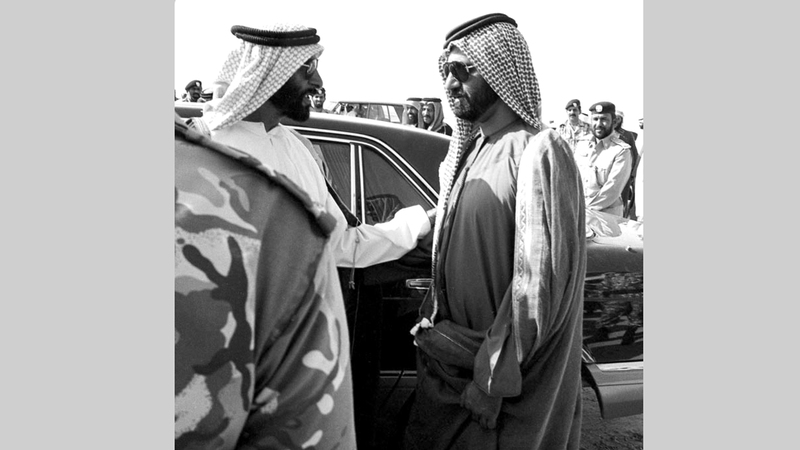 مواقف زايد مثلت رفضاً مستمراً لتمزق الأمة العربية. أرشيفية