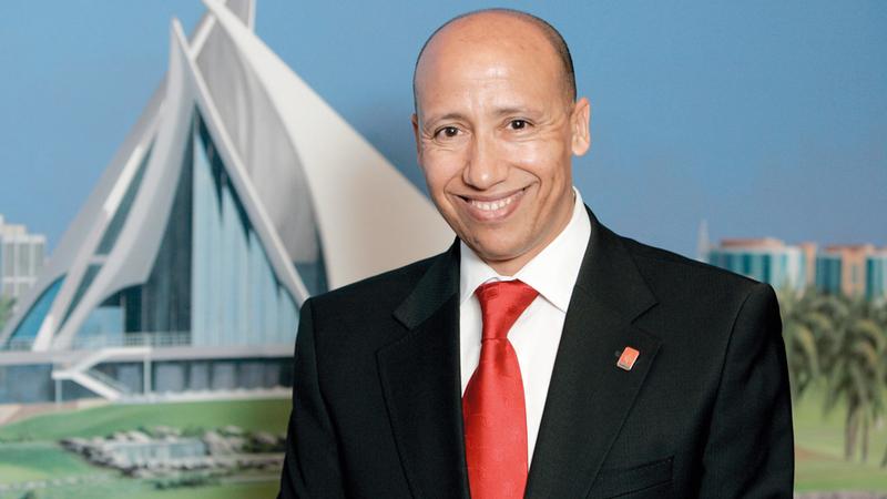 المدير الفني «المقال» لمنتخب ألعاب القوى سعيد عويطة. الإمارات اليوم