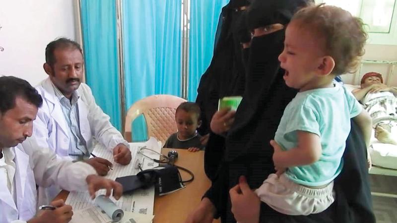 سكان محافظة الحديدة استفادوا من المساعدات الإغاثية الإماراتية. وام