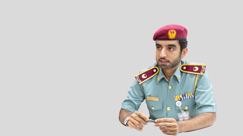 الرائد سالم بن علي: «ارتفاع عدد المكالمات لـ(آمر) يرجع إلى زيادة معدلات استخراج تأشيرات الزيارة والعمل».
