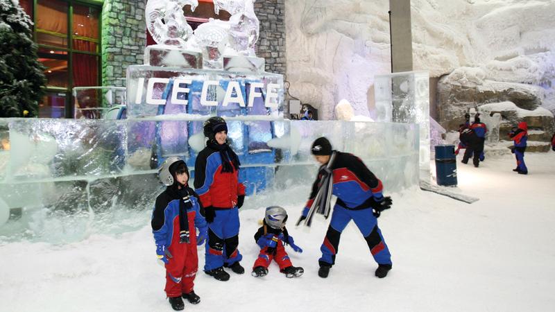 دبي وجهات ثلجية وجليدية ت نسيك حرارة الصيف اقتصاد محلي الإمارات اليوم