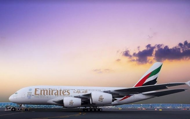 """الصورة: """"جيبي"""" يلغي رحلات طيران الإمارات إلى أوساكا"""