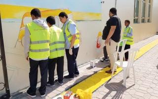 الصورة: «طرق دبي» تنفّذ خطة توعية جديدة في المدارس