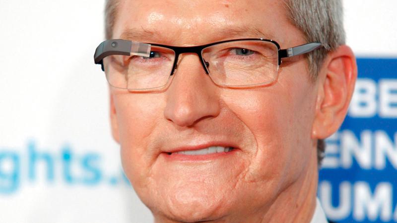 الشكل النهائي الذي ستتخذه نظارات «أبل» الذكية لايزال غير معروف.   من المصدر