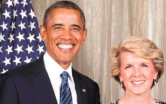 الصورة: علاقة أوباما برؤساء وزراء أستراليا.. غيلارد الأقرب وأبوت الأبعد