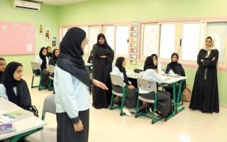الصورة: جميلة المهيري: ذوو الطلبة جزء مهم من العملية التربوية