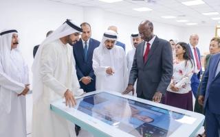 الصورة: حميد النعيمي: الإمارات أصبحت وجهة لطلبة العلم من دول العالم كافة