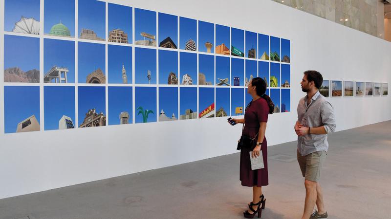 دبي تعد منصة فنية للمبدعين. أرشيفية
