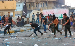 الصورة: الأحزاب العراقية تفشل في تشكيل حكومة ائتلافية بسبب الخلافات