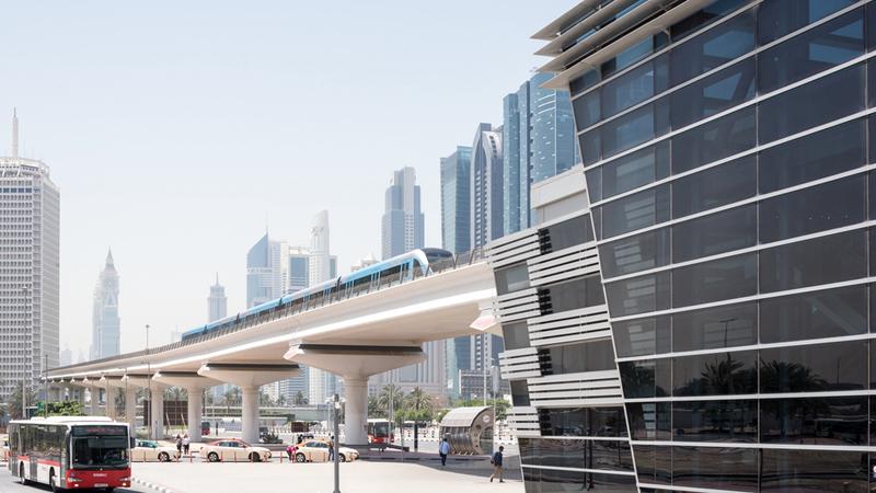 115 مليار درهم قيمة المنافع التراكمية للمترو بحلول عام 2020.  الإمارات اليوم